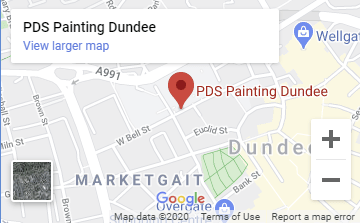PDS Painting Dundee Map